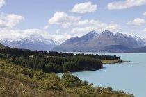 Просмотр в Национальный парк Гора Кука в дневное время, Новая Зеландия — стоковое фото