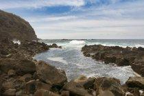 Portugal, Azores, Sao Miguel, Piscina naturale di Ferreira — Fotografia de Stock