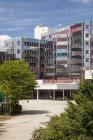Люксембург, Люксембурга, Європейський квартал, Європейського парламенту, Конрада Аденауера будівлі — стокове фото