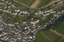 Німеччина, Рейнланд-Пфальц, пташиного польоту Klotten — стокове фото