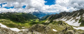 Австрия, Каринтия, вержюс, mountainscape в дневное время — стоковое фото