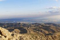 Turquia, Anatólia, monte Nemrut, vista Atatuerk Dam durante o dia — Fotografia de Stock