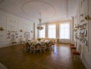 Deutschland, eutin, eutiner schloss, ausstellungsräume mit historischem interieur — Stockfoto