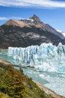 Veduta panoramica del ghiacciaio Perito Moreno e del lago Argentino al Parco Nazionale Los Glaciares, Patagonia, Argentina — Foto stock