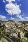 Italy, Basilicata, Matera, View to old town, Sassi of Matera during daytime — Stock Photo