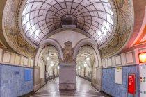 Germany, Berlin, historic subway station Heidelberger Platz — Fotografia de Stock