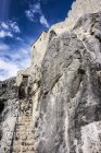 Croazia, Dunave Krajnje, Fortezza Sokol Grad contro il cielo — Foto stock