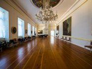 Deutschland, Eutin, Eutiner Schloss, Showrooms mit historischen Innenräume — Stockfoto