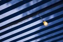 Vista de Croácia, Marcise, da lâmpada contra o céu — Fotografia de Stock