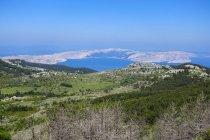Croácia, Senj, vista para o Golfo de Kvarner durante o dia — Fotografia de Stock
