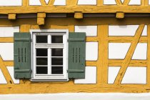 Germany, Schorndorf, Close uo of half-timbered house — Stock Photo
