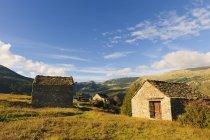Espagne, Aragon, Pyrénées centrales, Parc National d'Ordesa y Monte Perdida, vieilles à Fanlo — Photo de stock