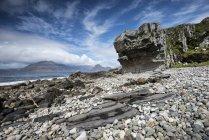 Regno Unito, Scozia, Isola di Skye, Veduta delle colline di Cuillin — Foto stock