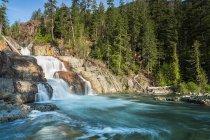 Canada, isola di Vancouver, Myra Falls — Foto stock