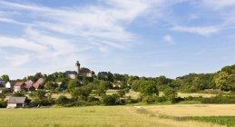 Germania, Baviera, Franconia, veduta del Castello di Zwernitz durante il giorno — Foto stock