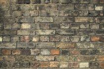 Muster der alten Mauer, full-frame — Stockfoto