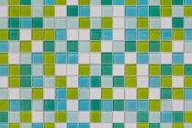 Farbige Fliesen aus Glas, Nahaufnahme — Stockfoto