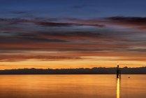 Deutschland, Konstanz, Blick auf Leuchtturm am Bodensee — Stockfoto