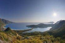 Turchia, vista della spiaggia di Oludeniz durante il giorno — Foto stock
