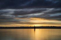 Німеччина, Констанція, перегляд маяк на Боденське озеро — стокове фото