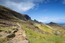 United Kingdom, Scotland, View of Hiking trail — Stock Photo