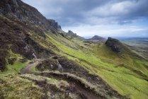 Vereinigtes Königreich, Schottland, Blick auf Wanderweg — Stockfoto