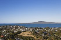New Zealand, Auckland, View of  Rangitoto Island  during daytime — Stock Photo
