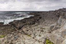 Краєвид Coastal Irland, графство Клер, поблизу села Дулін — стокове фото