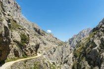 Spagna, Asturia, Parco Nazionale Picos de Europa, Ruta del Cares, Percorso da Poncebos a Caino — Foto stock