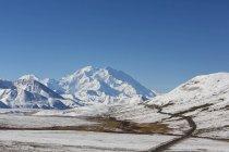 Аляска діапазон Denali National Park, Аляска, США — стокове фото