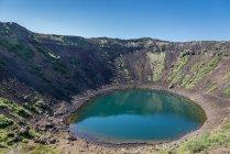 Ісландія, Grimsnes, Kerid, вулканічного кратер денний час — стокове фото
