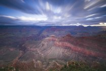 Stati Uniti, Arizona, vista del Grand Canyon National Park ad alba — Foto stock