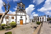 Spain, Canary Islands, Gran Canaria, Firgas, San Roque Church view in sunny day — Stock Photo