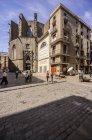 Igreja de Espanha, Barcelona, Santa Maria del Mar — Fotografia de Stock