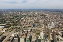 Chicago, Illinois, Chicago, View from Willis Tower during daytime — Stock Photo