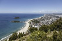 New Zealand, elevated view at Tauranga during daytime — Stock Photo