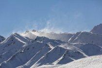 Schneebedeckter alaska-bereich im denali nationalpark, alaska, usa — Stockfoto