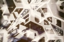 View of Abstract architecture indoors — Stock Photo