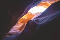 Rock arch in Antelope Canyon, Page, Arizona, USA — Stock Photo