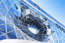 Germany, Hesse, Frankfurt, Detail of facade against sky — Stock Photo