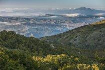 Італія, Сицилія, Madonie, Parco delle Madonie восени ранку — стокове фото