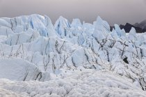 Ghiacciaio Matanuska sulle montagne di chugach, Alaska, USA — Foto stock
