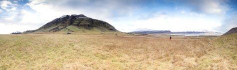 Исландия, панорамный вид Исландский ландшафт — стоковое фото