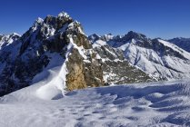 Allemagne, Bavière, vue montagnes Karwendel — Photo de stock