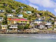 Caraibi, piccole Antille, Saint Lucia, Dennery, Dennery Bay — Foto stock