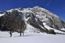 Австрия, Тироль, вид Карвендель — стоковое фото