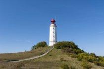 Deutschland, Mecklenburg-Vorpommern, Leuchtturm auf der Insel Hiddensee — Stockfoto