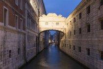 Італія, Венеція, Палаццо Грассі над водою — стокове фото