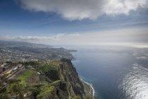 Portugal, Madeira, Cabo Girao, Blick auf Funchal — Stockfoto