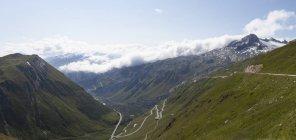 Passo dell'Oberalp Swirteland, Grigioni, durante il giorno — Foto stock